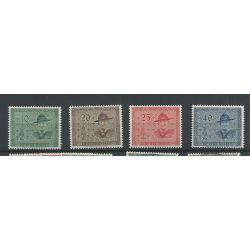 Liechtenstein 315-318 Pfadfinderkonferenz MNH/postfris CV 64 €