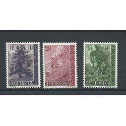 Liechtenstein 357-359 MNH/postfris CV 24 €