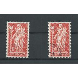 Liechtenstein 449 Madonna VFU & MNH/postfris CV 20 €