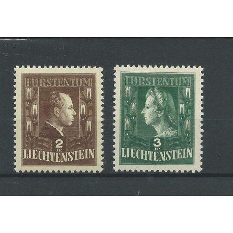 Liechtenstein 238-239 Fürstenpaar MNH/postfris CV 30 €
