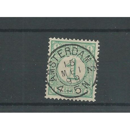 "Nederland 31 met ""AMSTERDAM-2 1899"" VFU/gebr CV 10++ €"