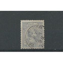 """Nederland 38 met """"VROOMSHOOP 1898"""" VFU/gebr CV 20 €"""