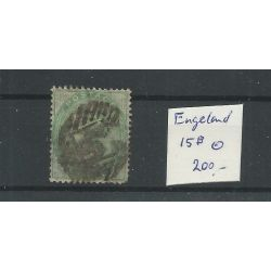 Engeland nr 15b Queen Victoria 1856 VFU/gebr CV 200 €