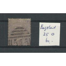 Engeland nr 25 Queen Victoria 1865 VFU/gebr CV 60 €