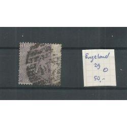 Engeland nr 29 Queen Victoria 1867 VFU/gebr CV 50 €