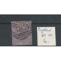 Engeland nr 30 Queen Victoria 1867 VFU/gebr CV 60 €