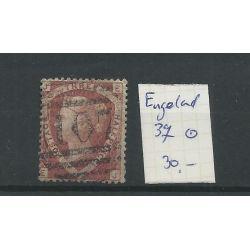 Engeland nr 37 Queen Victoria 1870 VFU/gebr CV 30 €