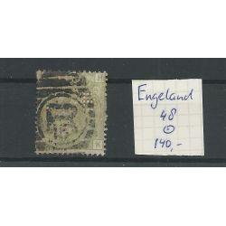 Engeland nr 48 Queen Victoria 1877 VFU/gebr CV 140 €