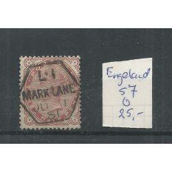 Engeland nr 57 Queen Victoria 1880 VFU/gebr CV 25 €