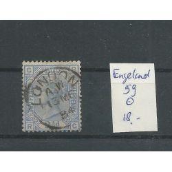 Engeland nr 59 Queen Victoria 1881 VFU/gebr CV 18 €