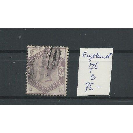 Engeland nr 76 Queen Victoria 1884 VFU/gebr CV 75 €