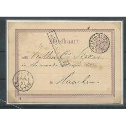 Nederland Briefkaart Apeldoorn-Haarlem CV 55++ €