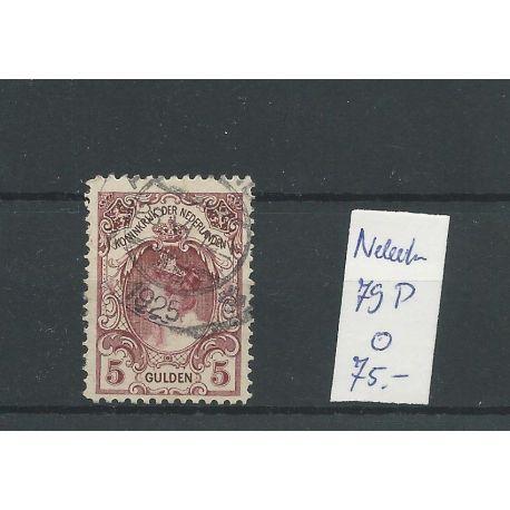 """Nederland 79P """"rode stip"""" VFU/gebr CV 75 €"""