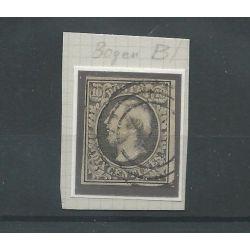 Luxemburg 1b Willem III 1852 VFU/gebr CV 70 €