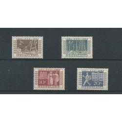 Nederland 592-595 ITEP MNH/postfris CV 100 €