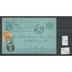 Nederland 34 op briefkaart 31-03-1992 voor FDC datum !! CV 1500++ €