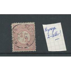 "Nederland 30 ""NIJMEGEN 1878"" twee-letter VFU/gebr CV 25+ €"