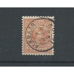 """Nederland 39 """"ALKMAAR 1892"""" VFU/gebr CV 10+ €"""