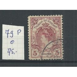 "Nederland 79P ""rode stip ornament"" VFU/gebr CV 75+ €"