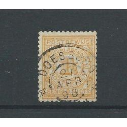 "Nederland PW2 met ""DOESBURG 1896"" grootrond CV 20+ €"