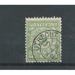 """Nederland PW3 met """"UTRECHT 1896"""" grootrond CV 110+ €"""