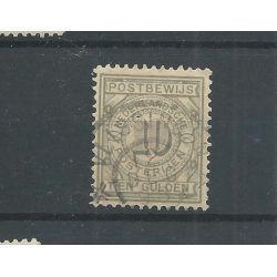 "Nederland PW7 met ""VLISSINGEN 1898"" VFU/gebr CV 50++ €"