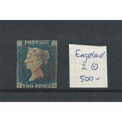 Engeland nr 2 Queen Victoria 1840 VFU/gebr CV 500 €