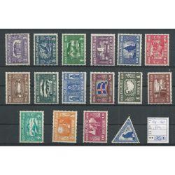IJsland 125-140 ALTHINGS-set MNH/postfris CV 700 €