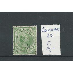 CURACAO 20 Wilhelmina 12,5ct VFU/gebr CV 14 €