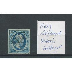 Nederland 1 met HEEG langstempel / SNEEK halfrond CV 250+ €
