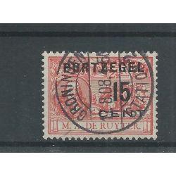 Nederland P40 GRONINGEN STATION-2 lange balk VFU CV 10+ €