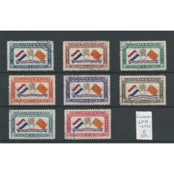 CURACAO LP 18-25 BERNHARDFONDS Prachtig VFU/gebr CV 280 €