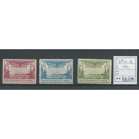 Ned. Indie LP14-16 Luchtpost MNH/postfris CV 150 €