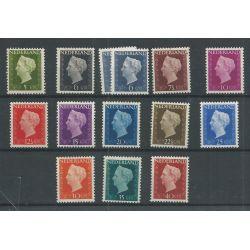 Nederland 474-486 Wilhelmina MNH/postfris CV 108 €