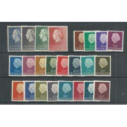 Nederland 617-640 Juliana MNH/postfris CV 39 €