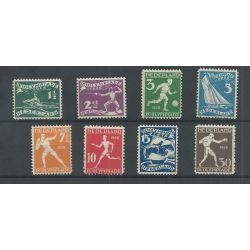 Nederland 212-219 Olympiade MNH/postfris CV 200 €