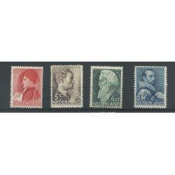 Nederland 274-277 Zomer 1935 MNH/postfris CV 117 €