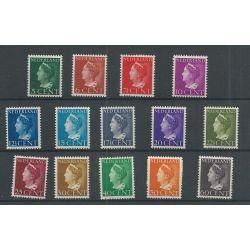 Nederland 332-345 Wilhelmina MNH/postfris CV 32 €