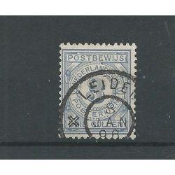 """Nederland PW4 """"LEIDEN 1896"""" grootrond VFU/gebr CV 110++ €"""