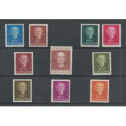 Suriname 285-294 Juliana MNH/postfris CV 55 €