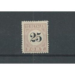 Suriname P5-IV Port 1886 MH/ongebr CV 275 €