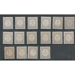 Suriname P17-32 Port 1913 MH/ongebr CV 20 €