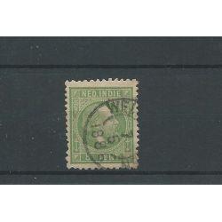 Ned. Indie 8G 11,5x12 gr.gt VFU/gebr CV 25 €