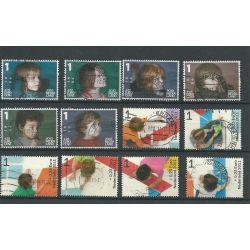 Nederland 2776a-2776f, 2886a-f KIND VFU/gebr CV 7,2 €