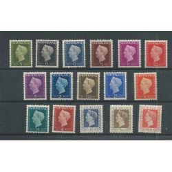 Nederland 474-489 Wilhelmina MNH/postfris CV 168 €