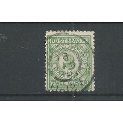 """Nederland PW3 met """"STEENWIJK 1898"""" grootrond VFU/gebr CV 100+ €"""