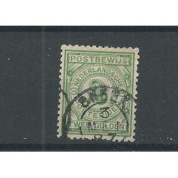 "Nederland PW3 met ""SNEEK 1887"" kleinrond VFU/gebr CV 110+ €"
