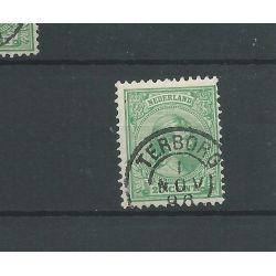"Kleinrond ""TERBORG 1896"" op 40 VFU/gebr"