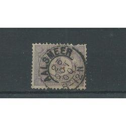 """Kleinrond """"AALSMEER 1900"""" op 50 VFU/gebr"""