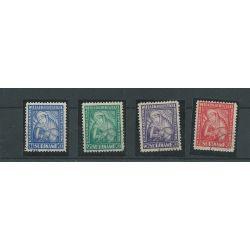 Suriname 137-140 van Heemstra VFU/gebr CV 25 €